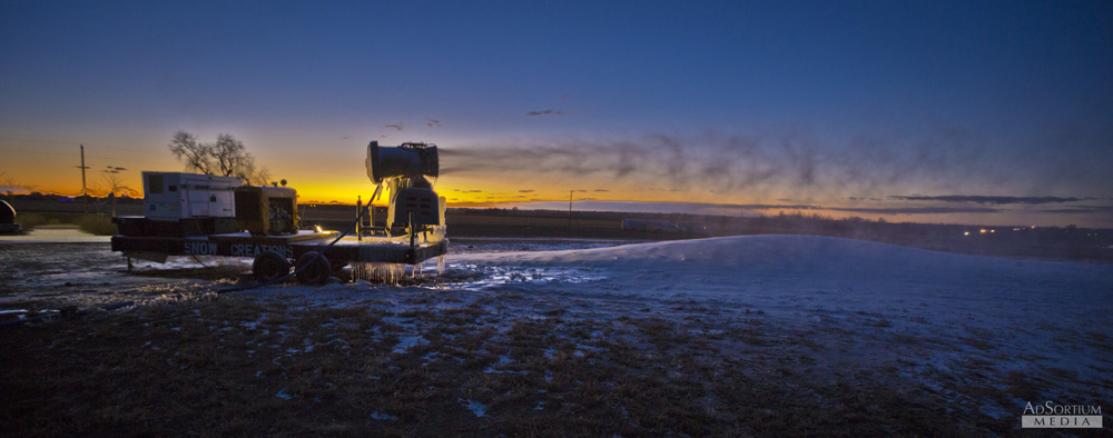 Snow Maker Sunrise